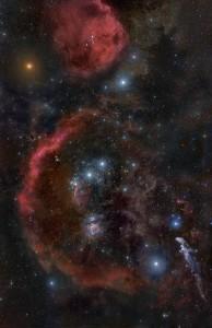 orion constellation,orion's belt