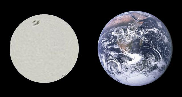 sirius b earth comparison,sirius b size