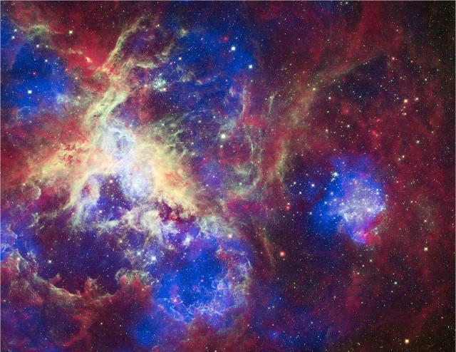 tarantula nebula hubble