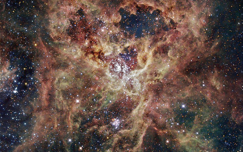 30 doradus,emission nebula,ngc 2070