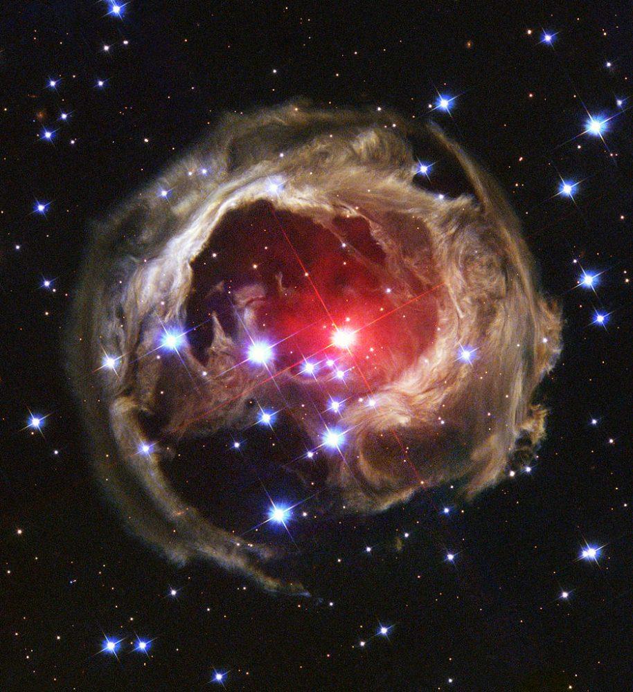 v838 monocerotis,light echo
