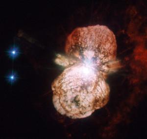 eta carinae,homunculus