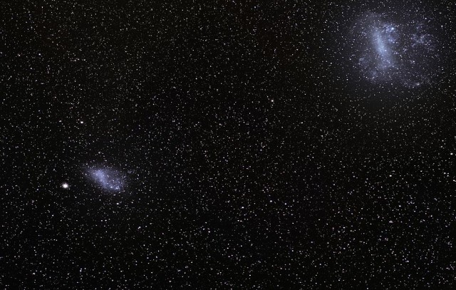 large magellanic cloud,small magellanic cloud