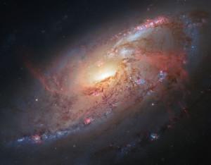 ngc 4258,spiral galaxy,maser galaxy,seyfert galaxy