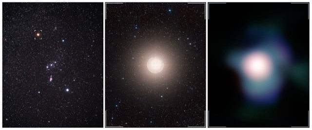 Betelgeuse star and c
