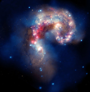 antennae galaxies,galactic collision