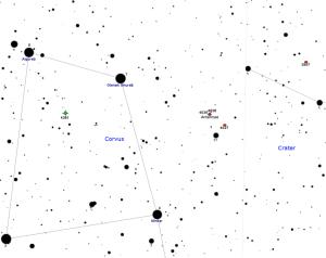 find antennae galaxies