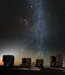 capella in the night sky