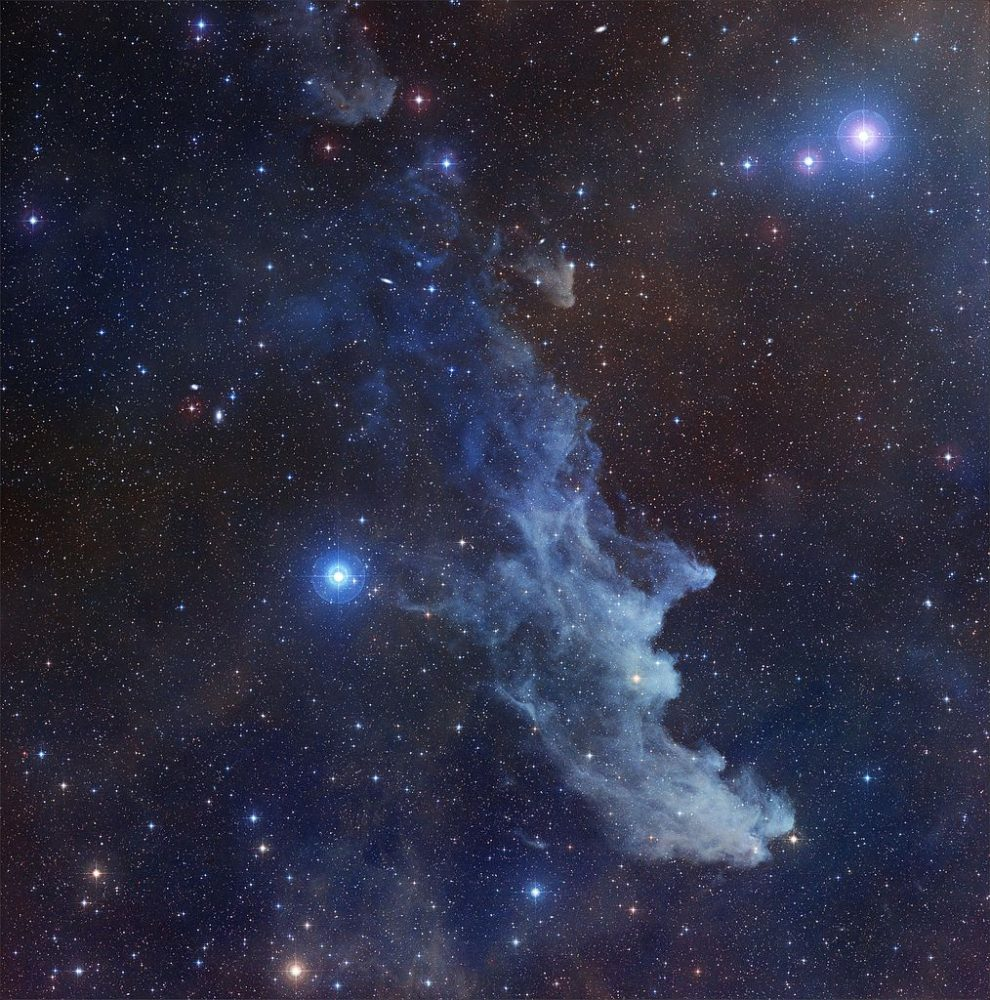 Witch Head Nebula Ic 2118 Constellation Guide