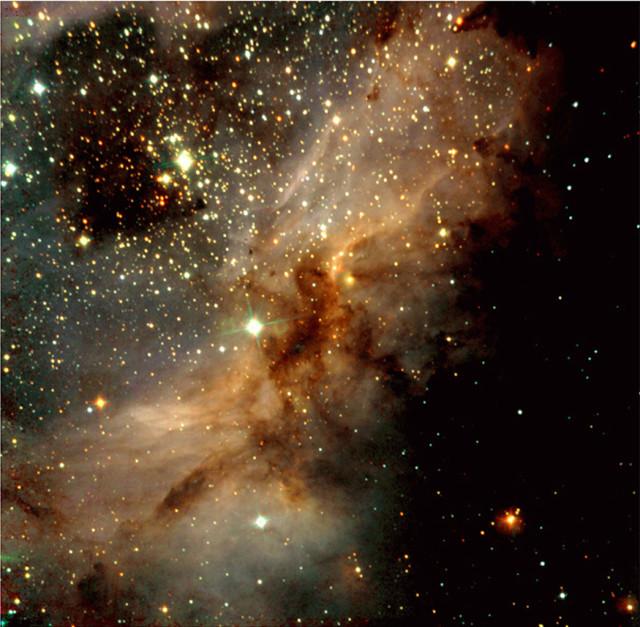 messier 17,swan nebula