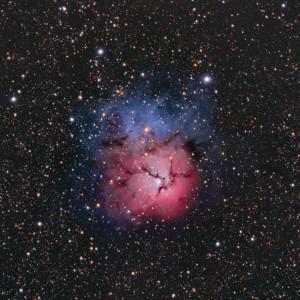m20,trifid nebula,sagittarius