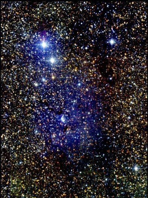 messier 20,trifid nebula