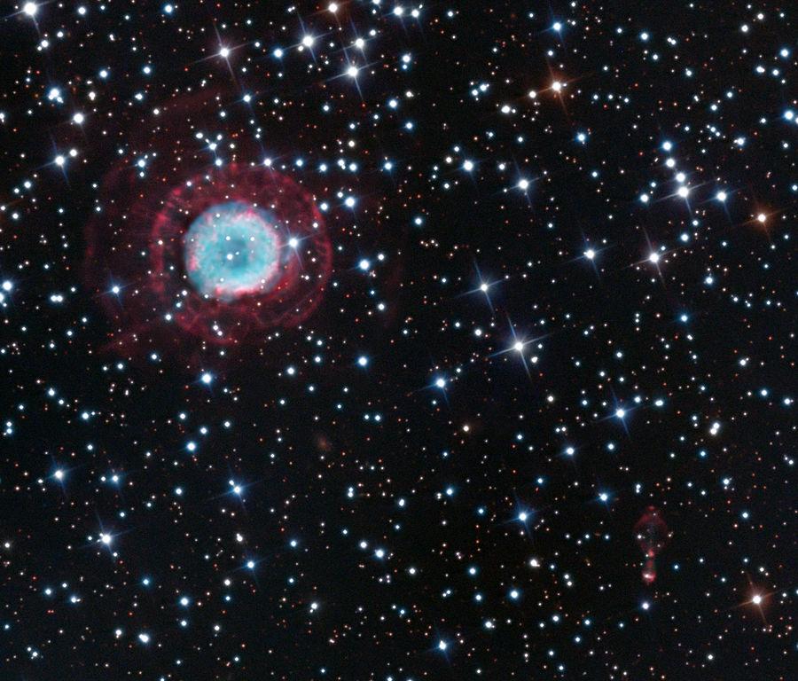 Rotten Egg Smell >> Calabash Nebula (Rotten Egg Nebula) - OH231.8+4.2 ...