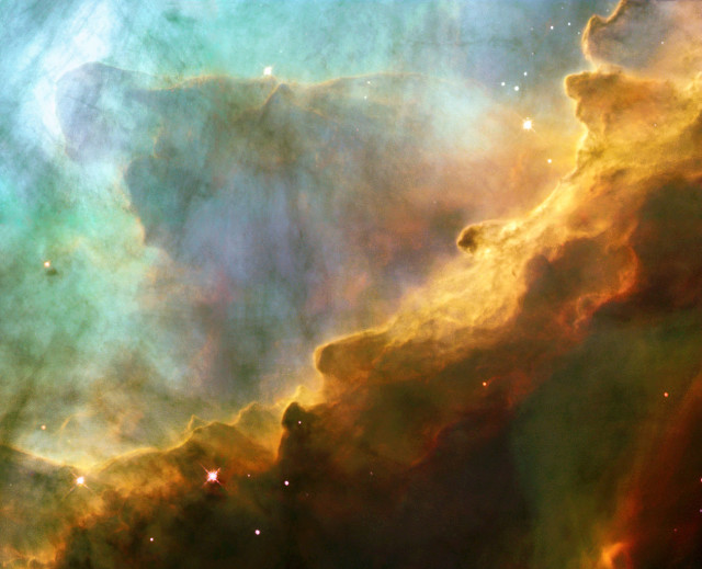 messier 17,swan nebula,horseshoe nebula