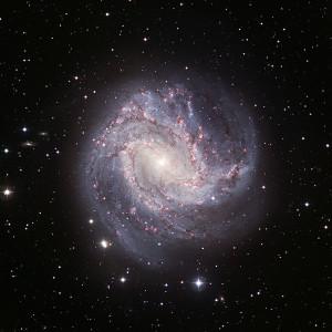 messier 83,barred spiral galaxy