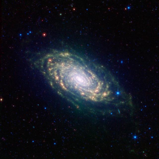 sunflower galaxy,m63