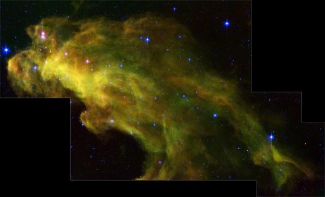 witch head nebula,ic 2118,reflection nebula,eridanus