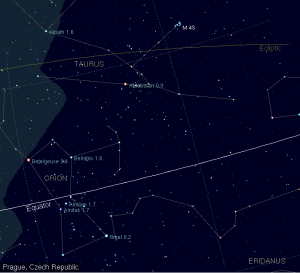 find aldebaran,where is aldebaran in the sky