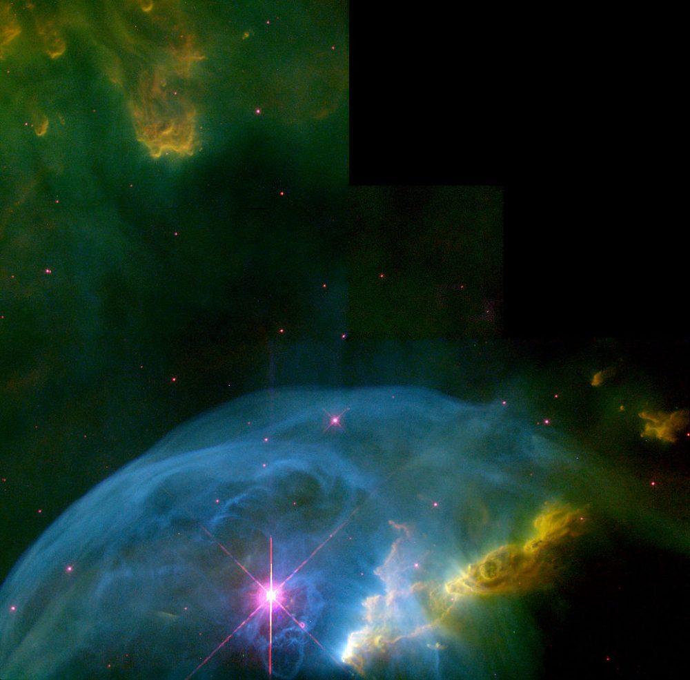 Bubble Nebula - NGC 7635 | Constellation Guide