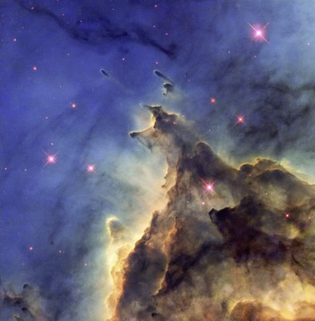monkey head nebula,ngc 2174