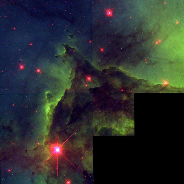 monkey head nebula,nasa image