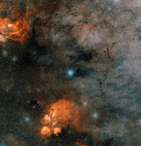 cat's paw nebula,war and peace nebula,gliese 667