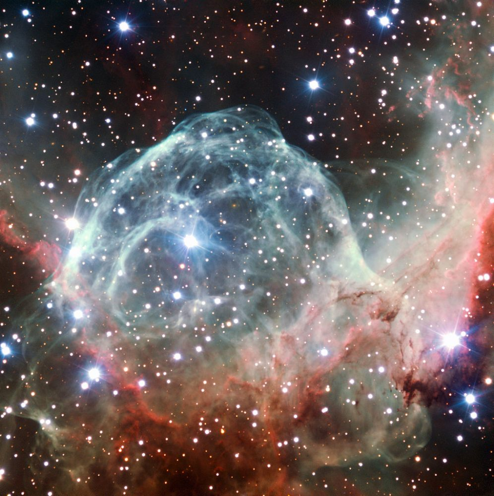 Thor's Helmet - NGC 2359 | Constellation Guide