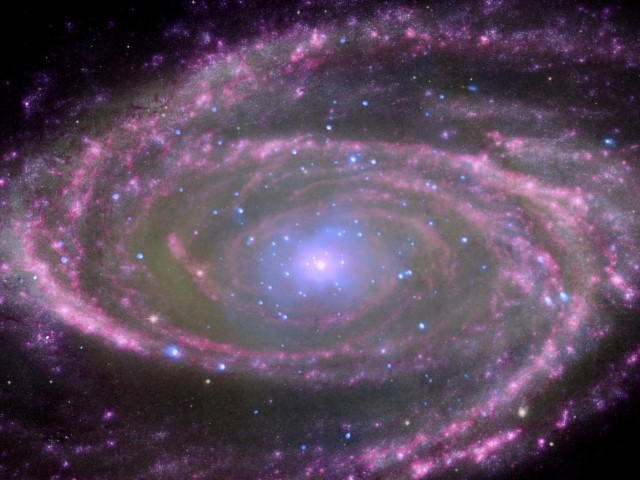 bode's galaxy,supermassive black hole