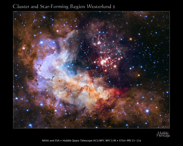 gum 29,star forming region,open cluster