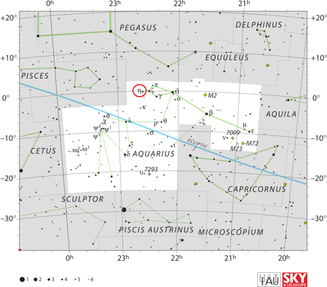 eta aquariids,meteor shower,aquarius
