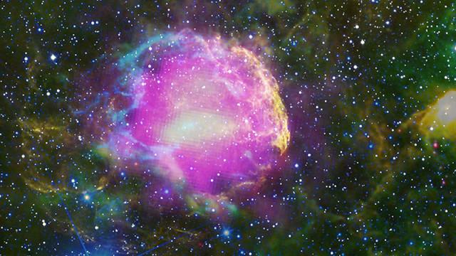 jellyfish nebula,supernova remnant