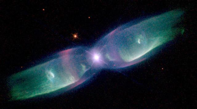 twin jet nebula,minkowski 2-9