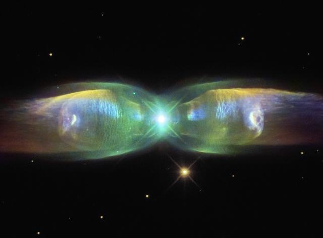 twin jet nebula,m2-9,minkowski 2-9,planetary nebula,bipolar nebula