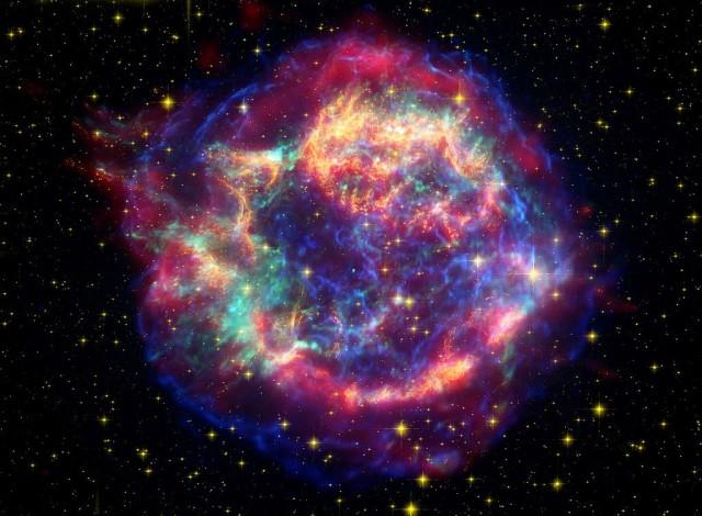 cas a,supernova remnant