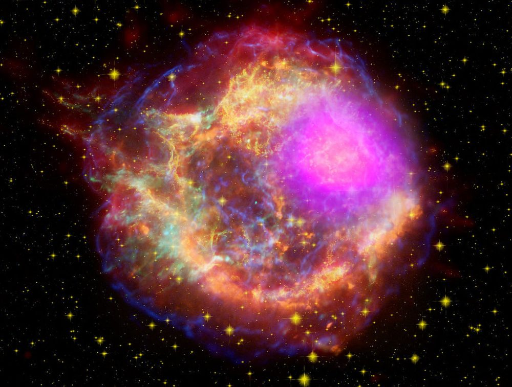Image result for Cassiopeia A