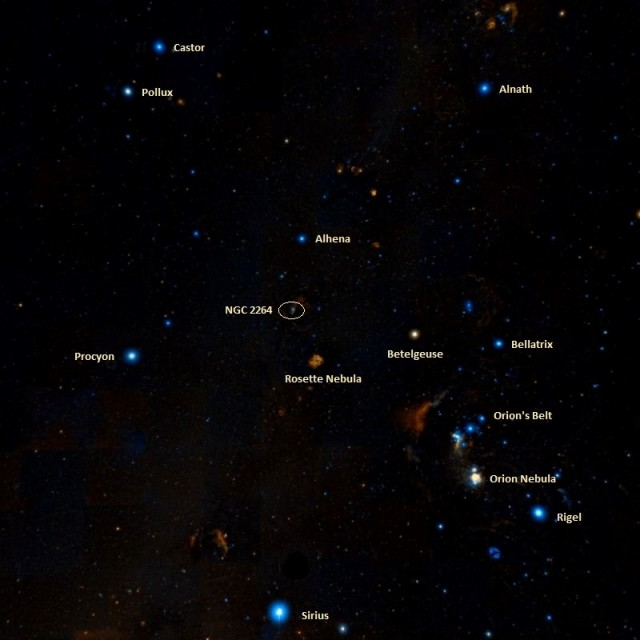 where is cone nebula