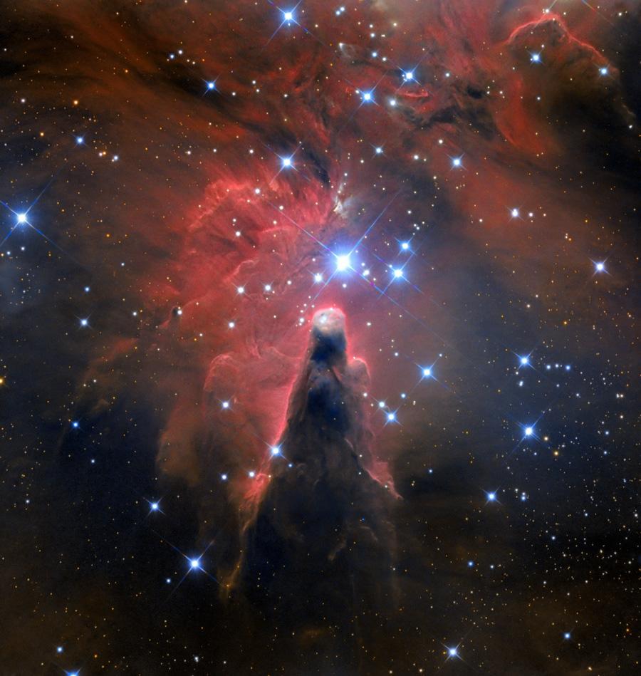 ngc 2264,dark nebula