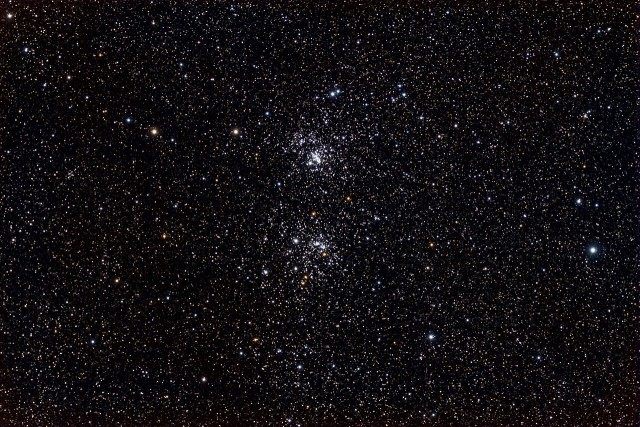 double cluster,ngc 869 and ngc 884,h and chi persei,double cluster in perseus