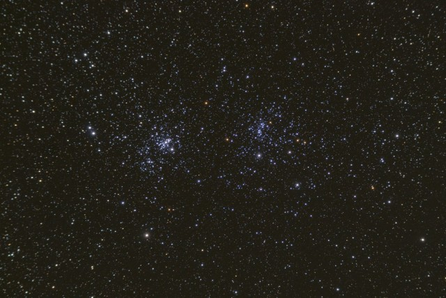 double cluster,open cluster in perseus