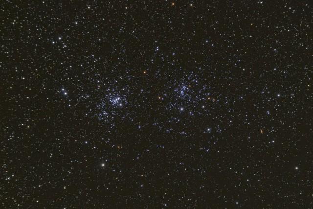 double cluster,open cluster in perseus