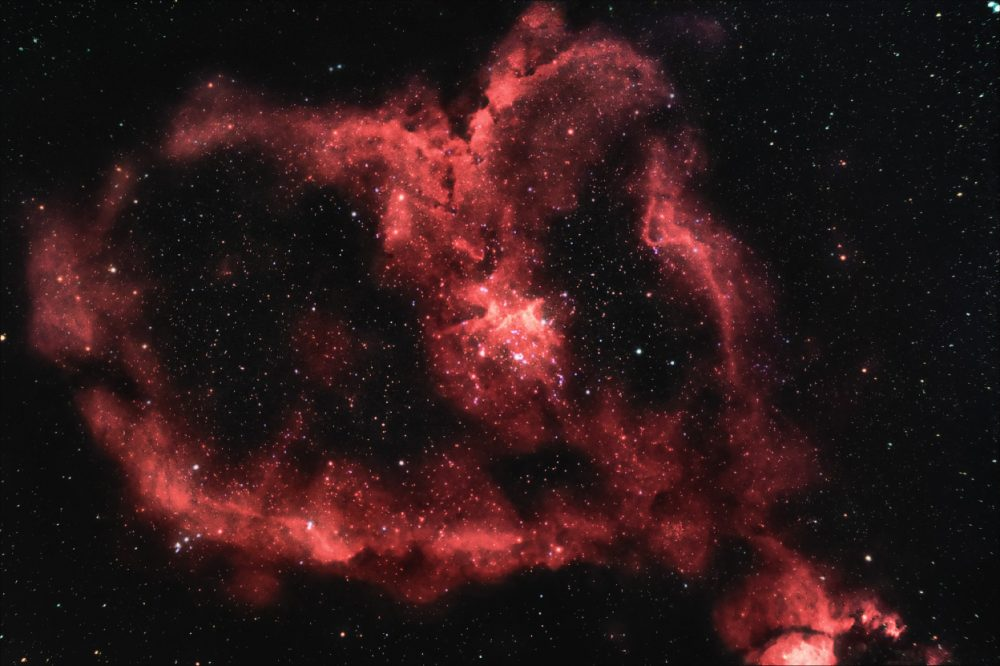 Heart Nebula - IC 1805 | Constellation Guide
