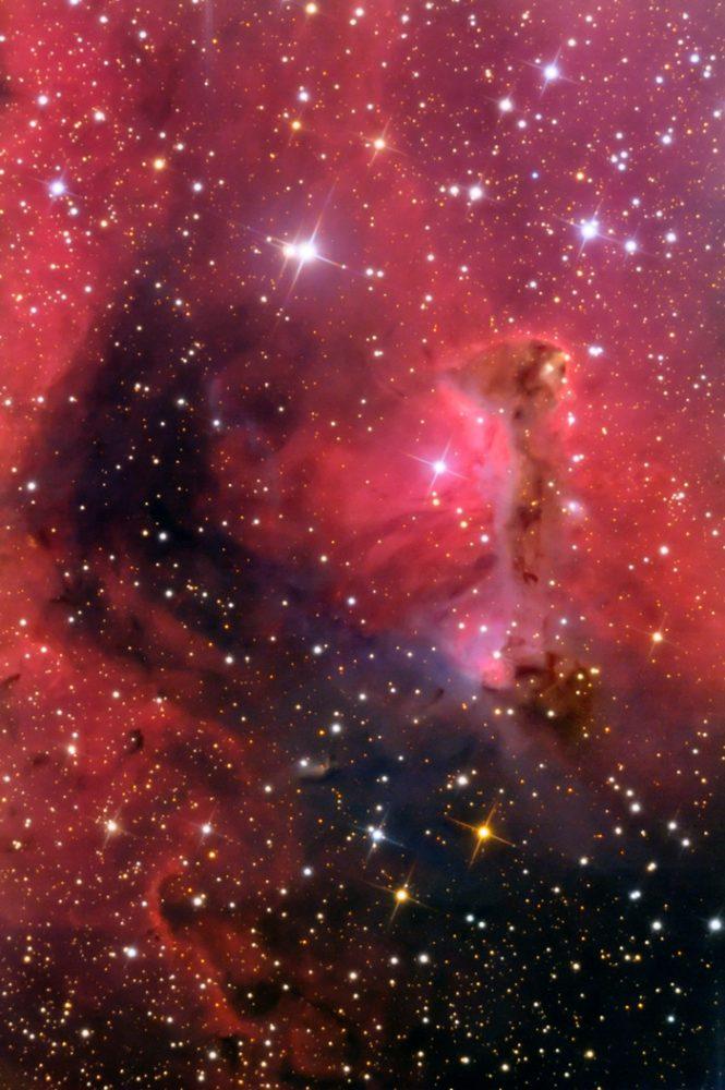 Soul Nebula - Westerhout 5 (IC 1848)   Constellation Guide