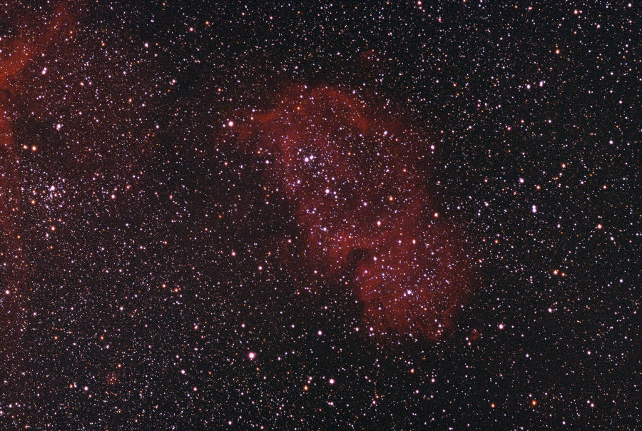 ic 1848,emission nebula,cassiopeia