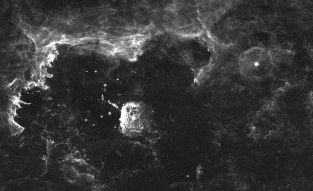 quintuplet cluster,pistol star,pistol nebula