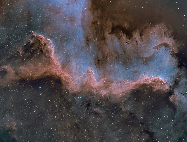 cygnus wall,north america nebula