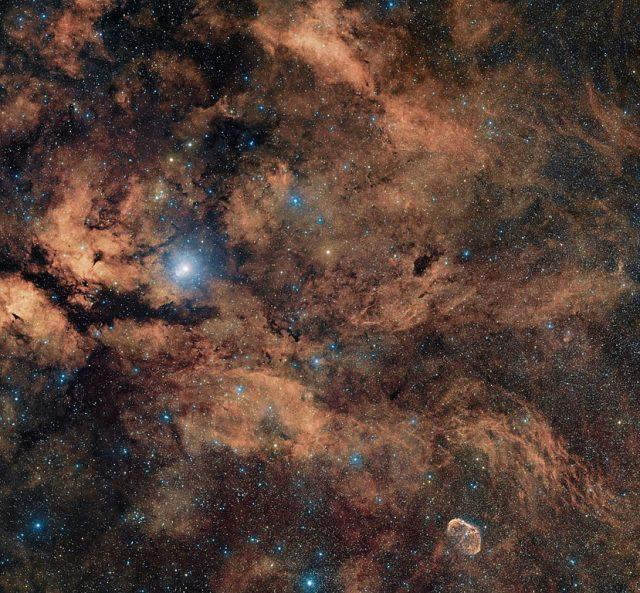 sadr region,butterfly nebula