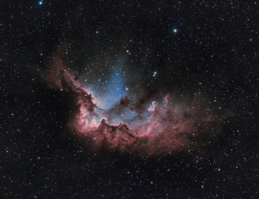 wizard nebula,ngc 7380,emission nebula