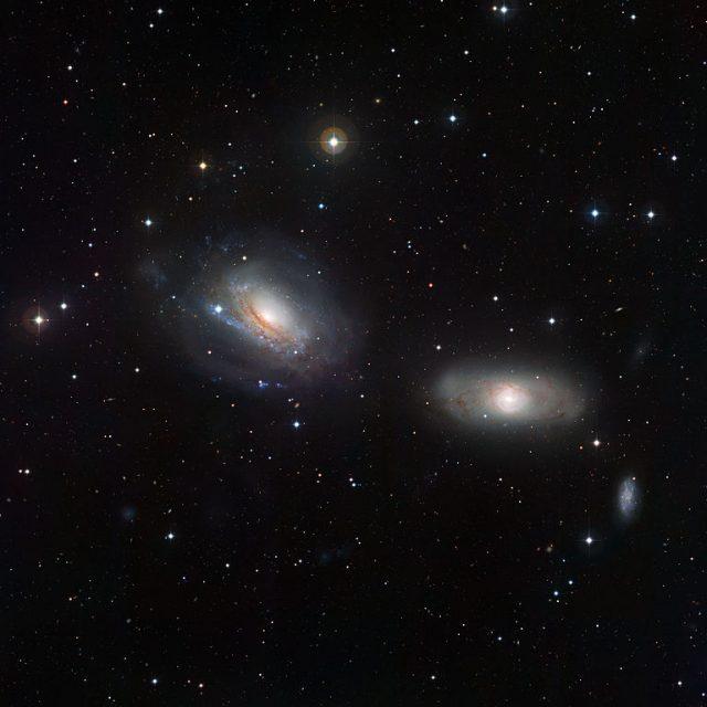 ngc 3166mngc 3169,interacting galaxies