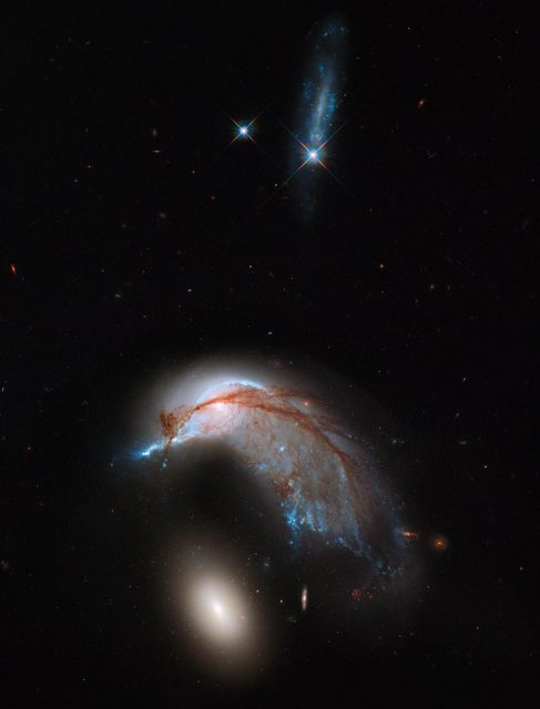 ngc 2936,interacting galaxies