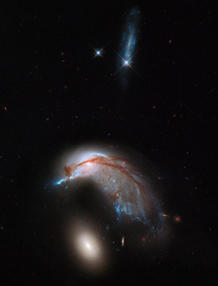 ngc 2936,interacting galaxies